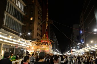One of the Japan's three major festivals, Gion Festival (Kyoto)