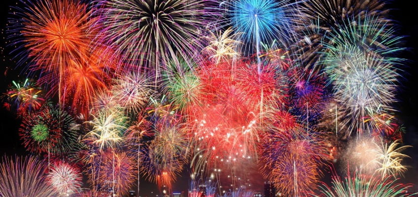Summer in Japan is the season of fireworks (Hanabi)!